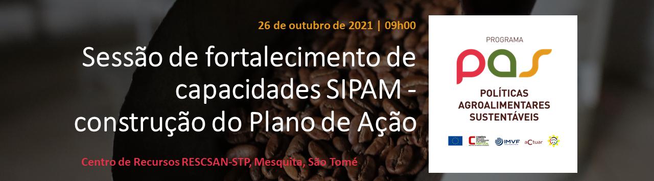 Sessão de fortalecimento de capacidades SIPAM - construção do Plano de Ação